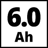 Акумулятор Einhell Power-X-Change Plus 18V 4-6 Ah Multi-Ah, фото 2