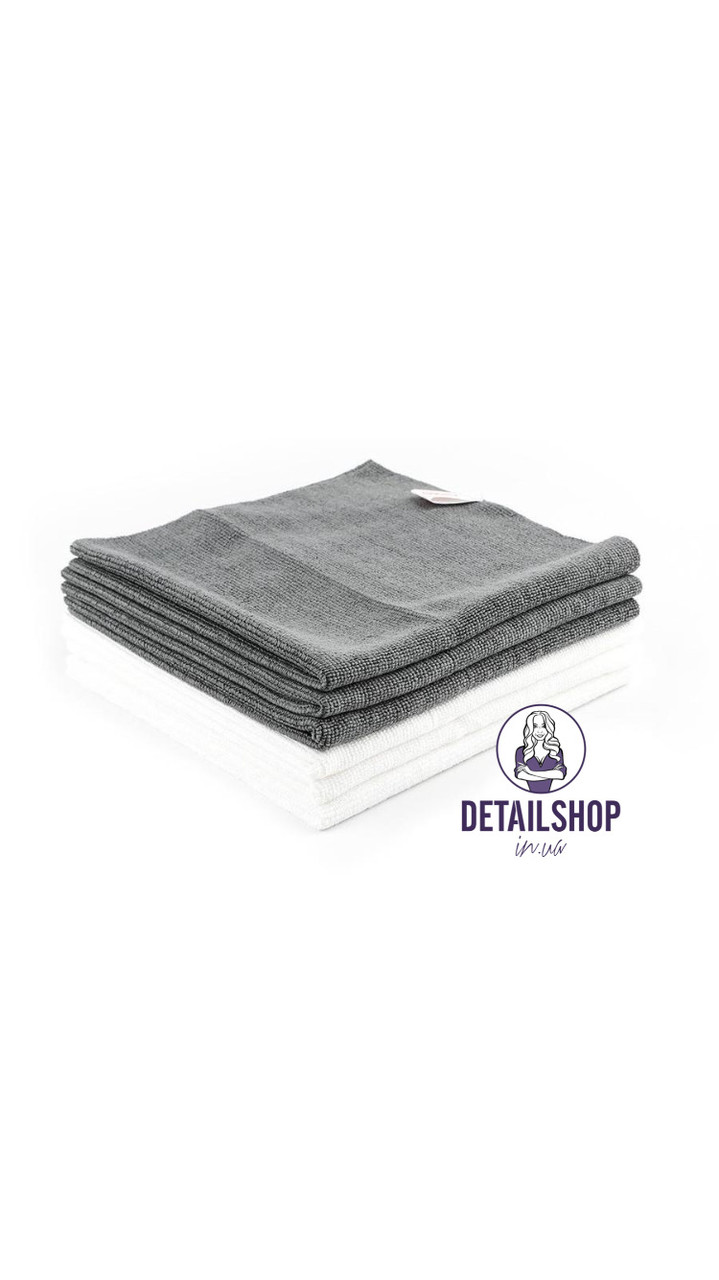 SGCB MF Dust Towel - микрофибра без оверлока двустороння для сушки и располировки