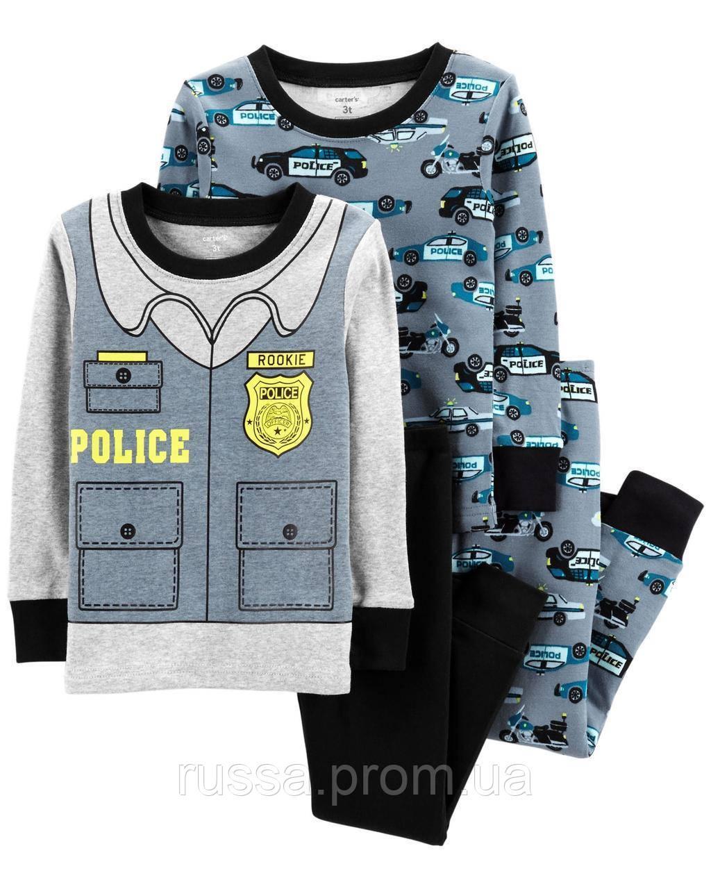 Трикотажные пижамы Полиция Картерс для мальчика (поштучно)