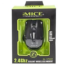 Игровая беспроводная мышь iMICE G-1700 Black