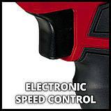 Набір ударна викрутка Einhell TE-CI 18 Li Solo + зарядний пристрій і акумулятор 18V 2,5 Ah, фото 4