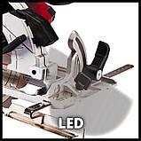Пила циркулярна акумуляторна Einhell TE-CS 18/165-1 Li-Solo, фото 5