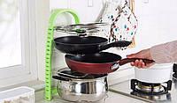 Подставка для сковородок, крышек, тарелок, кастрюль (Зеленый) - Полезные кухонные принадлежности