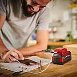 Акумуляторне USB зарядний пристрій TE-CP 18 Li USB-Solo, фото 4