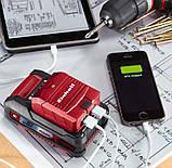 Акумуляторне USB зарядний пристрій TE-CP 18 Li USB-Solo, фото 5