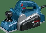 Рубанок электрический Bosch GHO 6500 (0601596000) + ножі до рубанку 82мм - 4шт., фото 2