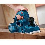 Рубанок электрический Bosch GHO 6500 (0601596000) + ножі до рубанку 82мм - 4шт., фото 4