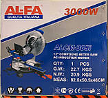 Торцювальна пила Al-FA ALCM-305i, фото 5