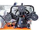 Воздушный компрессор LEX LXAC365-100 + Набор лакокрасочный 5шт с в/б GRAD (6791015), фото 2