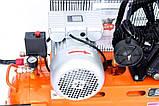 Воздушный компрессор LEX LXAC365-100 + Набор лакокрасочный 5шт с в/б GRAD (6791015), фото 5
