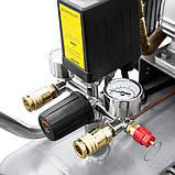 Компрессор двухцилиндровый ременной 2.5кВт 396л/мин 10бар 100л + набор лакокрасочный, фото 8