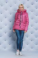 Куртка женская весна-осень на синтепоне пудра