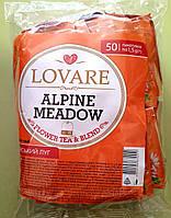 Чай Lovare Альпійський луг 50 пакетиків трав'яний