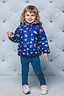 Куртка детская демисезонная Динозаврик