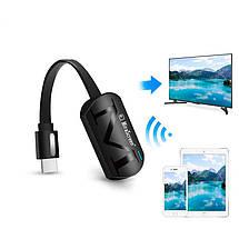Беспроводной WiFi MiraScreen приемник Robotsky G4 для трансляции экрана (Screen Mirroring), фото 3