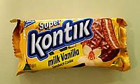 Печиво-сендвіч Супер Контік молочний, ваніль 100 г