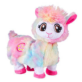 Интерактивная мягкая игрушка Танцующая лама радужная Бонни Pets Alive Rainbow Bonnie Booty Shakin Llama 9518