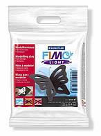 FIMOair light легкая полимерная глина на водной основе, высыхающая на воздухе, 125 гр., цвет: чёрный