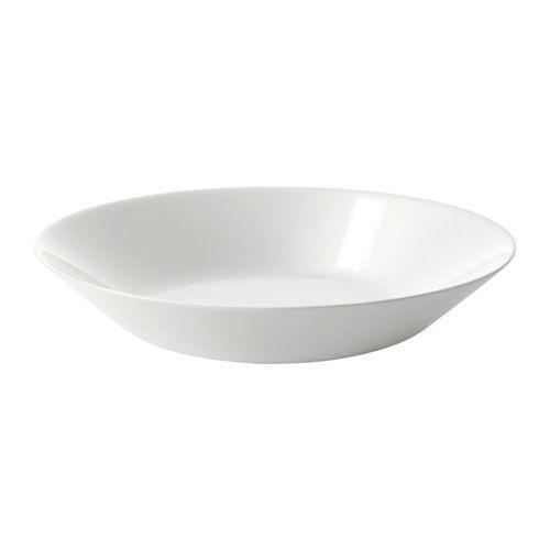 ОФТАСТ Тарелка глубокая, белый, 20 см