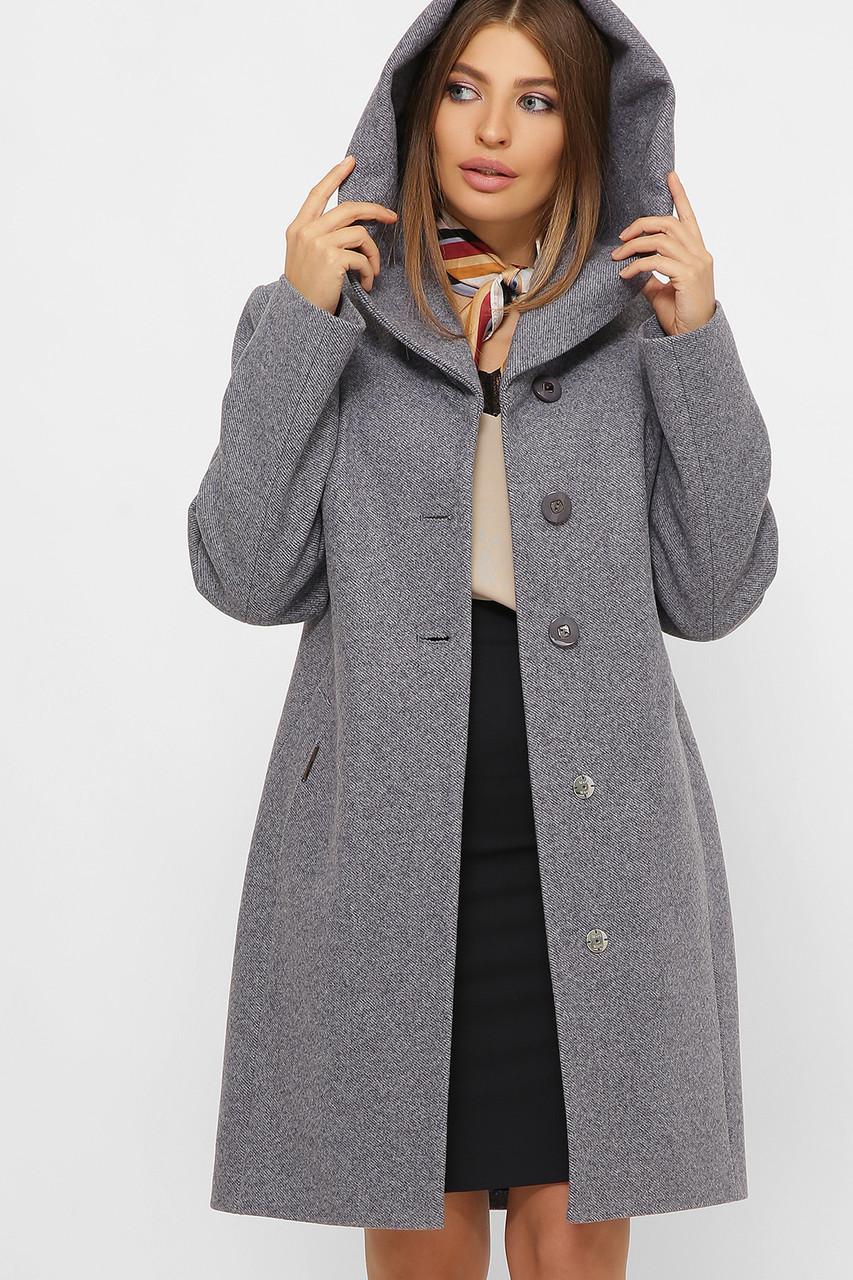 Женское Пальто MS-225 Z GLEM джинс размер 42, (030-0001)