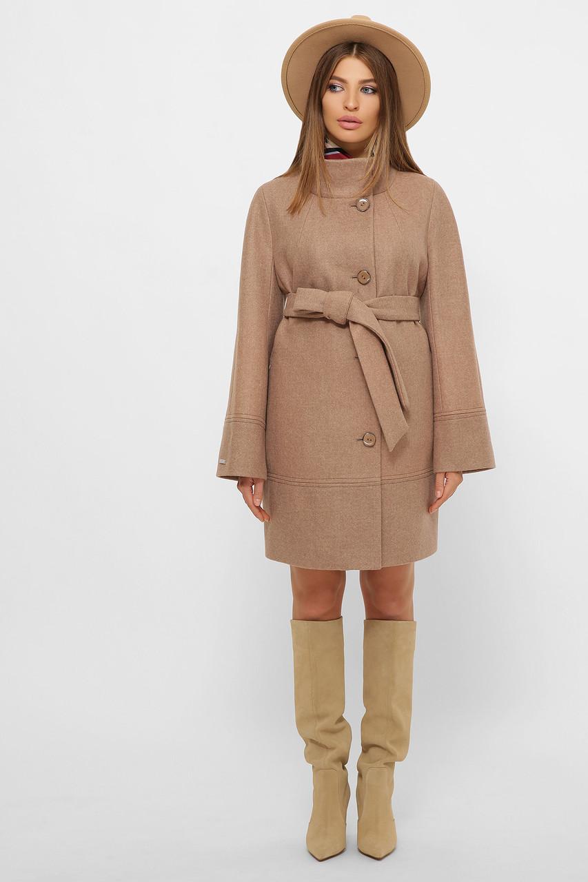 Женское Пальто MS-251 GLEM песок размер 48, (030-0003)