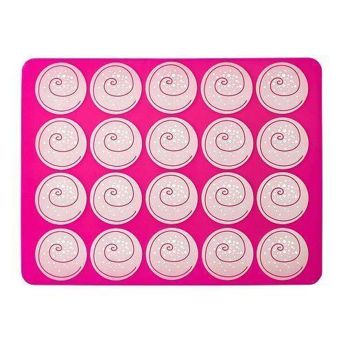 МОНСТРАД Лист для выпечки, розовый, 40x30 см