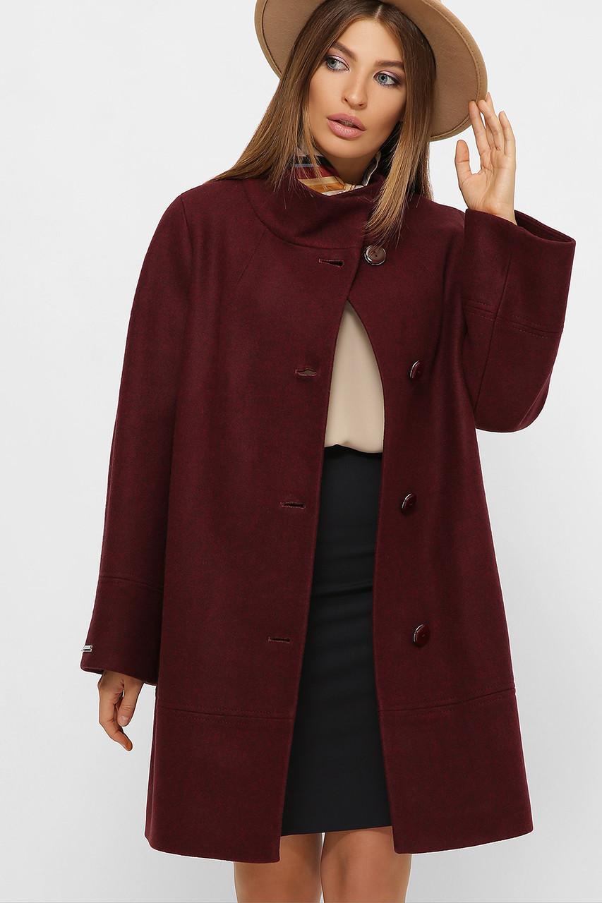 Женское Пальто MS-251 GLEM слива размер 50, (030-0003)