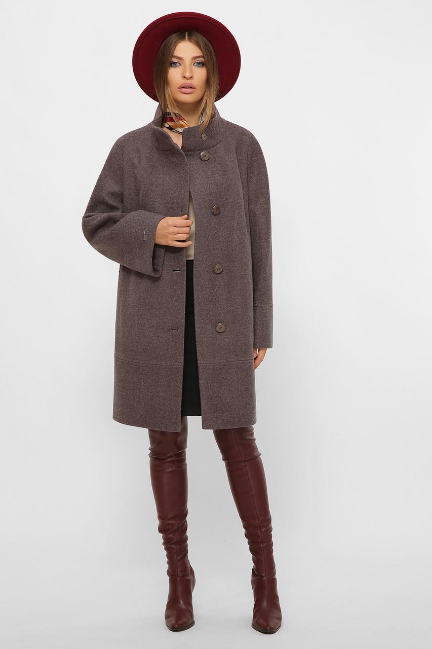 Женское Пальто MS-251 GLEM серый размер 48, (030-0003)