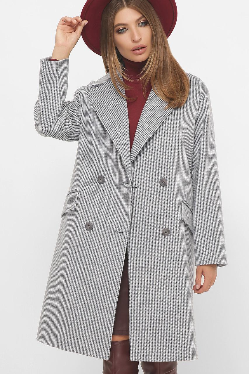 Женское Пальто MS-269 GLEM голубой размер 44, (030-0006)