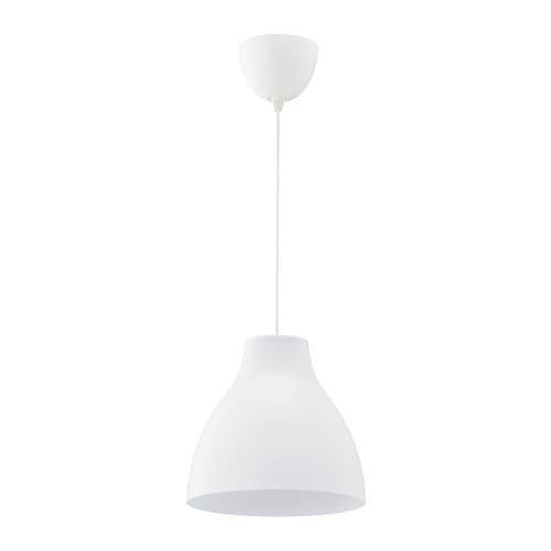 МЕЛОДИ Подвесной светильник, белый,  Диаметр: 28 см