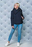 Женская куртка весна/осень темно-синяя