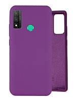 Чехол Silicone Case Full для Huawei P Smart 2020 Purple