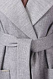 Женское Пальто П-347-М-90 GLEM св.серый размер 52, (030-0014), фото 4
