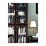 ОРСТИД Лампа настольная, никелированный, белый, фото 3
