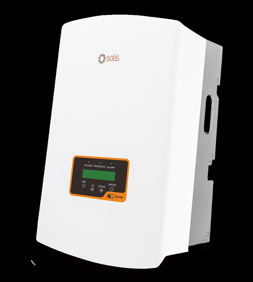 Сетевой солнечный инвертор Solis 5 кВт 1P5K-4G-DC