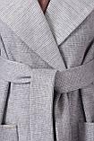 Женское Пальто П-347-М-90 GLEM св.серый размер 54, (030-0014), фото 4