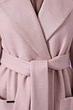 Женское Пальто П-347-М-90 GLEM пудра размер 44, (030-0014), фото 4
