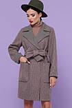 Женское Пальто П-347-М-90 GLEM темно-бежевый размер 46, (030-0014), фото 2
