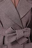 Женское Пальто П-347-М-90 GLEM темно-бежевый размер 46, (030-0014), фото 4