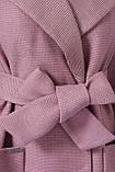 Женское Пальто П-347-М-90 GLEM  А розовый размер 52, (030-0014), фото 4