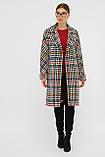 Женское Пальто П-399-100 GLEM лапка цветная размер 42, (030-0017), фото 4