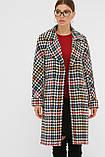 Женское Пальто П-399-100 GLEM лапка цветная размер 42, (030-0017), фото 5