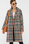 Женское Пальто П-399-100 GLEM лапка цветная размер 48, (030-0017), фото 2