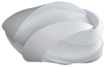 Нежный абажур Umage Ribbon (диаметр 59  см)