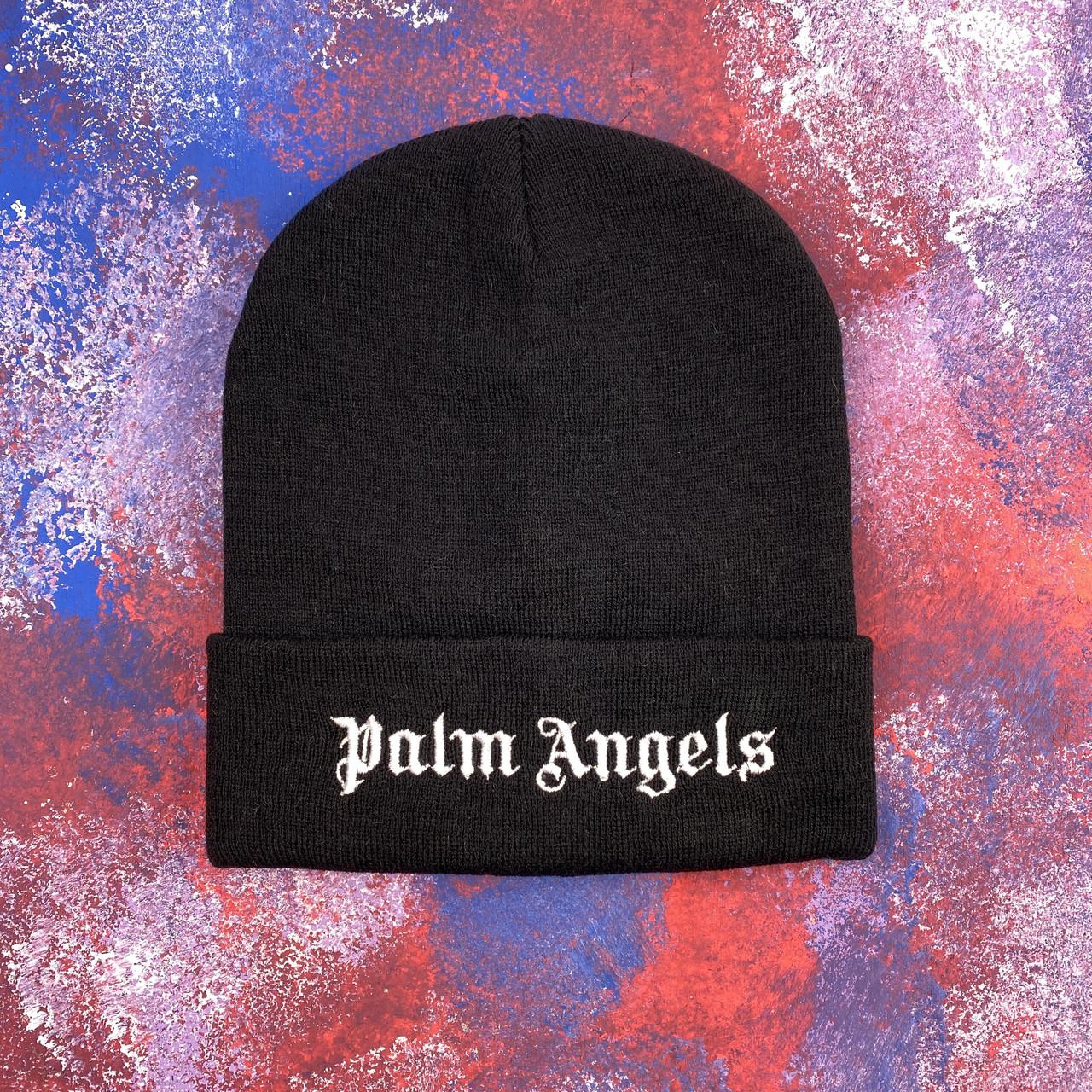Черная шапка Palm Angels