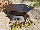 Костровая чаша с декором, 70 см, фото 8