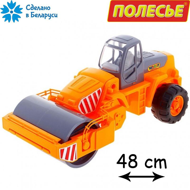 """Детская игрушка асфальтоукладчик """"Дорожный каток"""", WADER-POLESIE"""