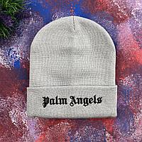 Светло- серая шапка Palm Angels, фото 1