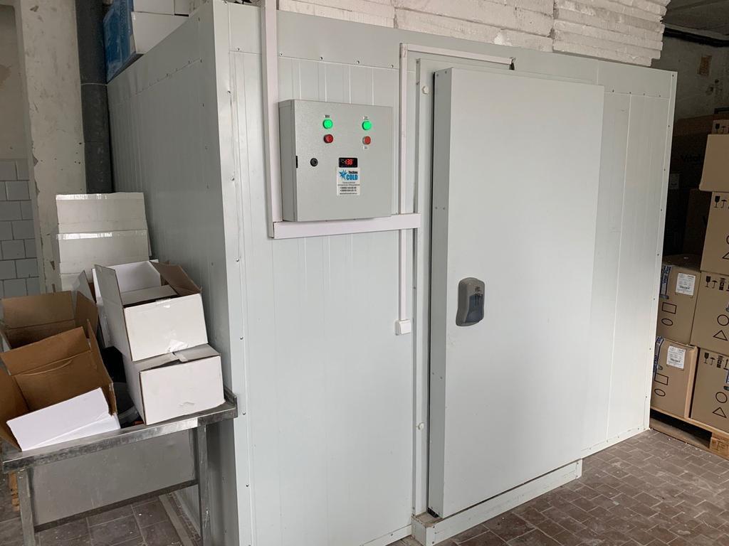Холодильная камера для пресервов низкотемпературная и среднетемпературная. ТМ Прибой, г.Днепр.