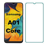Защитное стекло для Samsung Galaxy A01 Core (A013) прозрачное 2.5D 9H
